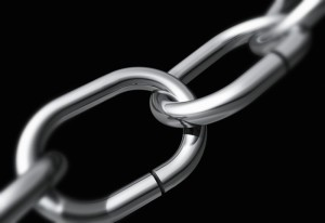 Metal Chain --- Image by © moodboard/Corbis